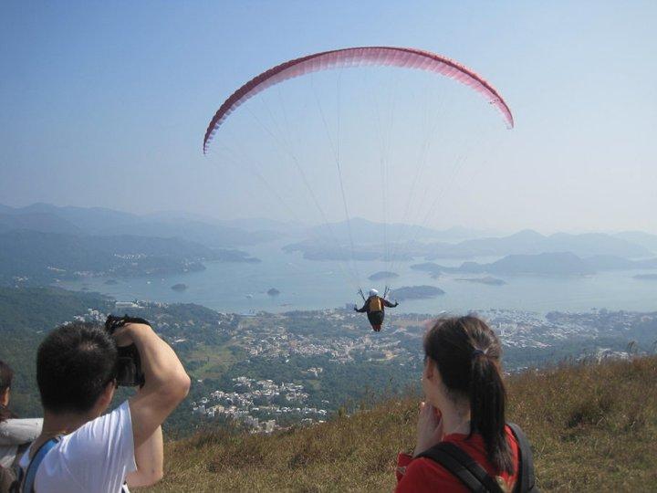 Paragliding In Hong Kong